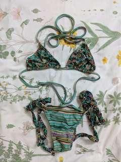 RIO DEL SOL Brazilian Floral Bikini
