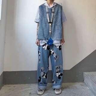 [Weapons] Mickey straight cut denim jeans