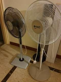 2 Standing Fans (Morries and Takada)