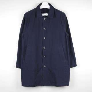 🚚 【GGM】EQUQLITY HERRINGBONE SHOP COAT 復古版型中長款工裝風衣寬鬆休閒大衣外套