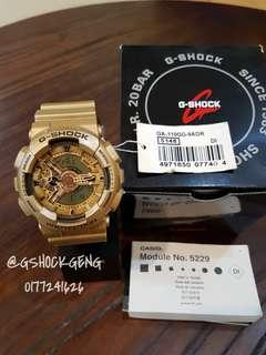 G-SHOCK GA-110GD-9 / GA110 GOLD ORIGINAL