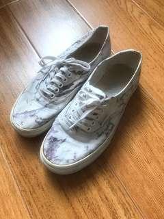Vans marble shoes