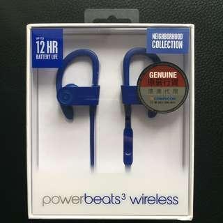 Powerbeats3 Wireless Earphones 無線藍牙耳機