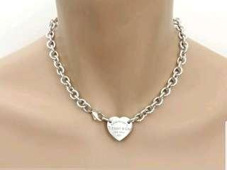 Tiffany & Co Return to Tiffany Heart Tag Chocker Necklace