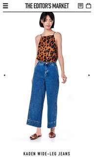 The Editor's Market Kaden Wide Leg Jeans
