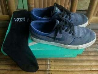 Nike sb janoski deep blue