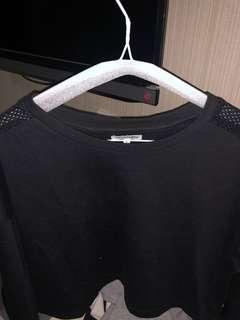 ColorBox long sleeve crop