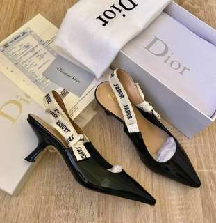 69415983ada DIOR Limited Edition J adior Slingback 65mm Heels Pumps