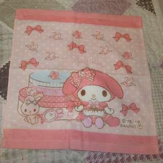 Sanrio My Melody 2019' Hand Towel 小方巾 (出入口已剪標毛巾)
