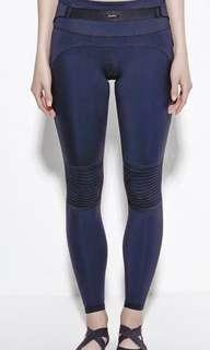 Daquïni Moto leggings (size XS) in Black