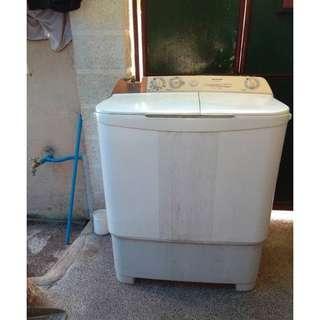 Sharp Aquamagic Washing Machine (Twin Tub) - semi defective