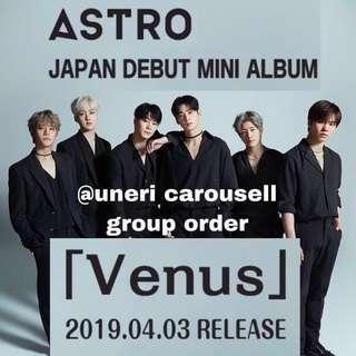 PO/GO Nonprofit Astro Venus Album — Japanese Debut