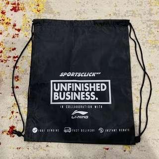 Drawstring Bag #SnapEndGame