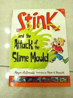 🚚 Stink and the attack of the slime mould by Megan McDonald
