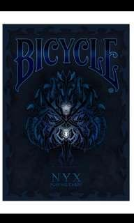 Bicycle NYX playing card
