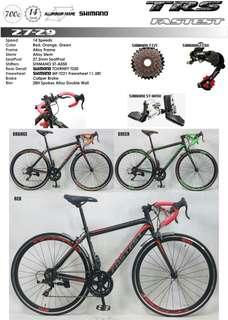 TRS Fatest  roadbike 2x7(14)speed