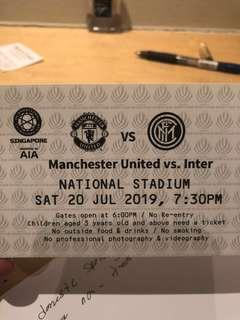🚚 Front row tickets CAT 2 Manchester united