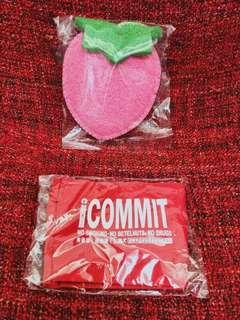 🚚 草莓洗澡球Vs. 飲料杯提袋