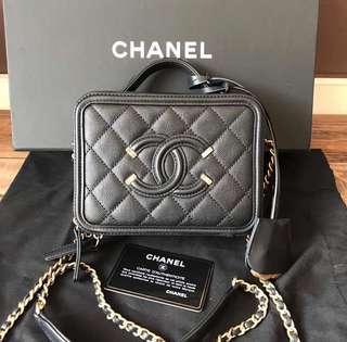 Chanel vanity case 17cm 相機包