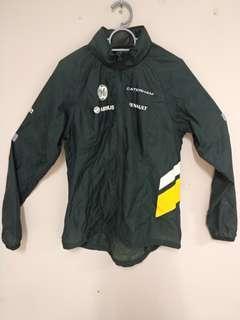 Caterham F1 team rain jacket