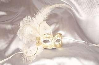 🚚 BN Just Posh Venetian Masquerade Mask
