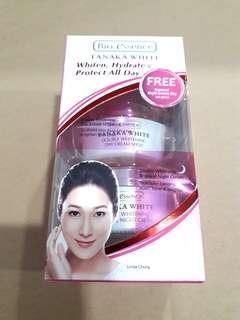 Bio Essence Tanaka White Double Whitening Day cream SPF20 20g + Renewal Night Cream 20g Travel Trial Sample pack