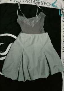 Gray Skirt & Top