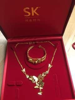 🚚 SK Jewellery 999 gold dream butterfly