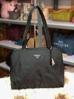98e540c360f4 Authentic Prada Nylon Laptop Bag With Lockset
