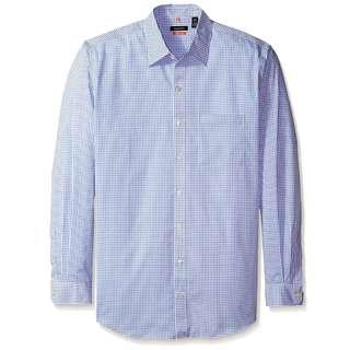 Men's Big & Tall Traveler Non Iron Stretch Long Sleeve Shirt