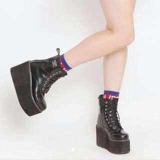 major made厚底軍靴