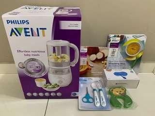 🚚 BN Philips Avent Healthy Baby Food Maker (4 in 1 blender)