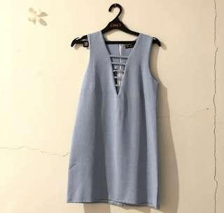 MINIDRESS BLUE