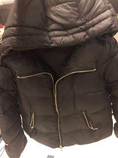 Zara Brand New winter jacket (black colour)