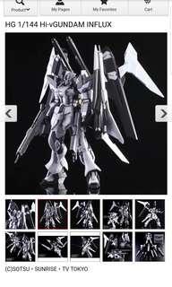 Pbandai HG 1/144 Hi-V Gundam Influx