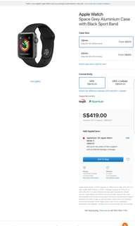 Apple Watch Series 3 - new!