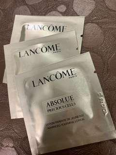LANCOME蘭寇絶對完美極緻活化柔膚露1.5mlX3包