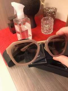 🚚 PRADA全新真品粉藕色太陽眼鏡💎