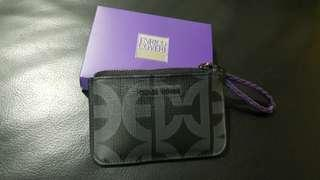 BNIB Enrico Coveri Card Holder with Key Ring