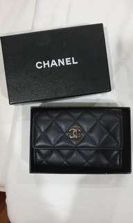 🚚 BN Chanel Lambskin Card Holder
