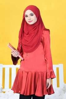 Muslimah Tunic Satin/Cotton