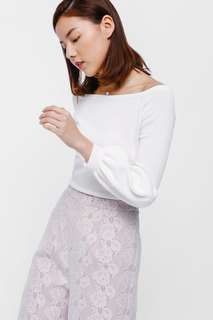 7ae4278ed3590d Love Bonito Aedys Off Shoulder Balloon Sleeve Top