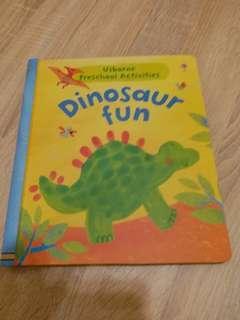 Dinosaur Funs 兒童書