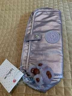 Kipling Light Purple Cosmetic Bag 馬騮仔化妝袋 超靚