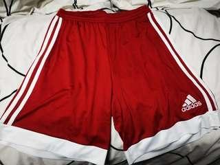 🚚 New Adidas Basketball Shorts - Red