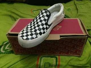 Vans Checkerboard B&W grade ori import Vietnam