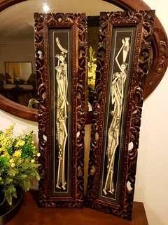 Balinese Deco Pieces (Set of 2)