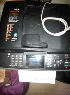Brother J410 4合1 打印機 跟1套全新未開封填充墨盒連墨水
