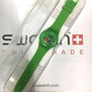 Swatch Watch Green Lacquered