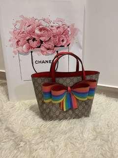 Gucci mini 🌈 bow bag